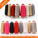 100% Polyester Material and High Temperature Resistant,High Tenacity,Eco-Friendly Feature embroidery machine thread