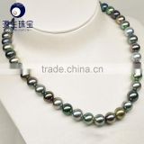 real tahitian black pearl necklace simple designs tahitian pearl jewelry