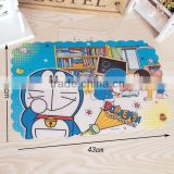 Popular Eco- Friendly Carton Kids Kitchen Plastic Pvc Table mat