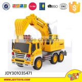 New arrival plastic friction excavator grab car for kids china wholesale