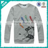 2014 hot sale new design long sleeve direct to garment printer for men in China garment factory (lyt030006)