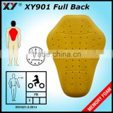 CE approved insert riding back protector for motorcycle jacket
