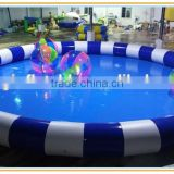 cheap inflatable pool for water walking ball games, inflatable swimming pools for kids, inflatable pool for rental