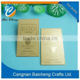 gold rectangle sign/craft maker with cheap price for large quantities / accpet and welcome OEM/ODM by customers