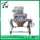 jacketed electric kettle brewing plant tilting electric/steam/gas heating jacketed kettle/pan/boiler/pot