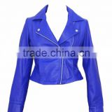 Leather Quilted Jacket Ladies Women Lamb Leather Biker Motorbike Short Jacket BEST QUALITY JACKETS CHEAP PRICE