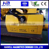 Permanent magnetic plate lifter, 1000KG magnetic lifter, magnetic hoisting chuck