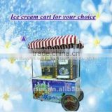 Jishi Multifunctional Ice Cream Cart / Beautiful Appearance Ice Cream Cart/ 2015 NEW Ice Cream Cart for hot sale