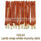 Munchy Stick with Real Lamb Dental Stick Dry Pet Snack Dry Pet Food Dog Treat Dog Training Treat