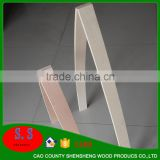 Free samples laminated veneer sheets Wood Bent Bed Board for bed furniture overlay paper