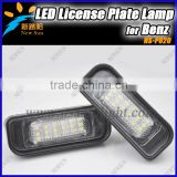 Auto Accessory Led Number License Plate Lamp For BENZ W220(W220 99-05 (S-class)