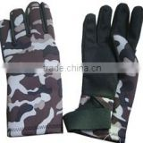 Myle factory nice design top quality anti-slide and durable neoprene fishing glove