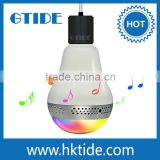fresh new bluetooth smart LED wireless speaker light bulb for use with Apple iPhone/ iPad/ iPod and Android devices