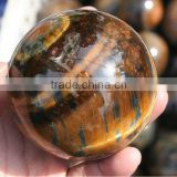 Natural Stone Spheres / Tiger Eye Gemstone Quartz Ball Sphere