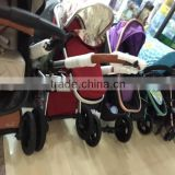 cheap price steel frame color optional baby crib mobile baby cart