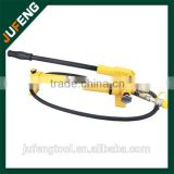 hot sale standard portable hand operated hydraulic pump