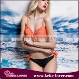 2016 extreme sexy plus size neoprene bikini cheap good quality sexy swimwear bikini two pieces designal sexy bikini