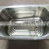 Stainless Steel Single Bowl Undermount Hand Wash Kitchen Sink With Electrical Heated Tube
