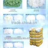 7D*32mm Raw white polyester fiber/two-dimensional/three-dimensional Korea cotton