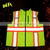 warm safety reflective vest padding warm working vest wholesale waterproof men or women vest