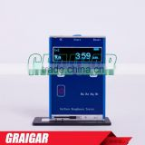 Metal case portable Surface Roughness Tester Leeb 455 Built-in lithium ion chargeable battery
