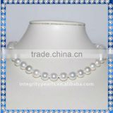 Very Nice Quality & Luster Sea Shell Pearl Necklace SSN005