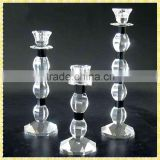 New Arrival Colors Crystal Bead Candle Holders For Wedding Souvenirs