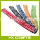 Mixed Pattern Style Summer Ice Cooling Scarf Neck Cooler Wrap Non Toxic Powder Wrist Cooling Headband