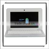 "Imitation AP 1GB 10"" VIA8880 Dual-core China Cheap Popular Laptop Netbook with 8GB Hard Drive and Front Camera Silver"