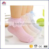 baby girls kids toddler cotton lace ruffle princess mesh socks breathable short ankle sock
