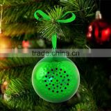 Mini Wireless Chrimas Jingle Bell Bluetooth Speaker Ball