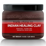 Helps with Acne & Rejuvenating Skin Pure & Natural Bentonite Clay Indian Healing Clay