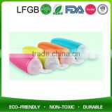 Wholesale OEM Silicone Baby Bottle Spoon With Storage Cap Easy For On-the-go Baby Accessories