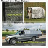 80% shade aluminet, shade net carport, shade netting silver 3x4m for car cover, shade sail aluminet shade cloth