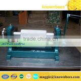 hot sale beeswax foundation manual coining mill machine