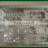 Precision cnc milling parts, precision parts for injection mold, tool parts by cnc machining