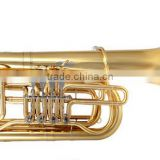 Bb key 4 key tuba for brass band