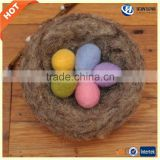 2017 amazon best gift Easter decoration felt colored Easter egg in large stock