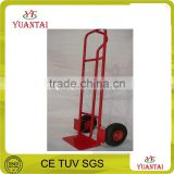 various usage Steel Hand Trolley single loophand truck hand trolley with two wheels loading 200kg