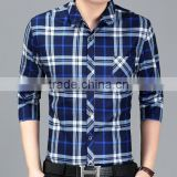 wholesale mens summer autumn thin western tartan plaid shirts