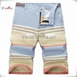 2016 Brand Design Cotton Beach Shorts Short Pants Men Casual Male Sporting Short Trousers
