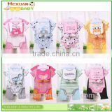 China supplier fancy designer baby animal cartoon branded organic cotton baby rompers wholesale baby clothes
