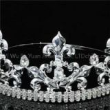 Rhinestone Man\'s Tiara King And Queen Crown Hair Accessoies