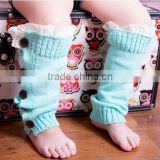 High Quality Kids Acrylic Leg Warmer, Kids Knitted Boot Socks