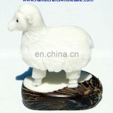 Tagua Nut Carvings Exotic Farm Animals Collection Unique Sheep Vegetable Ivory Figurines Affordable Statues Decoration Ecuador