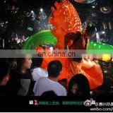 led halloween carnival inflatable stage show costume