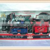 Hot sale kids electric toy train sets