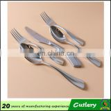 custom spoon & fork cutlery set bulk stainless steel cutlery