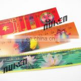 high quality lenticular effect UV printed design ruler