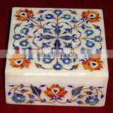 Stone Marble Inlay Handmade Boxes